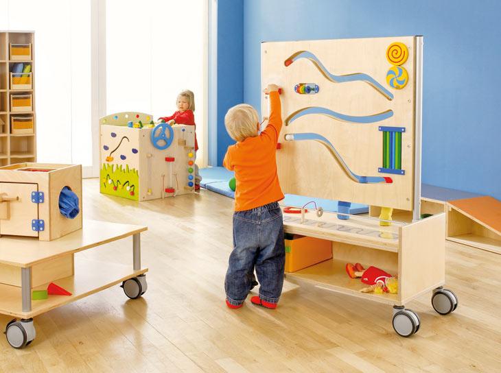 spielburg kinderzimmer, gruppenraum b - gruppenräume - raumkonzepte - kinder unter 3, Design ideen