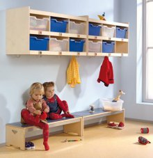 Garderobe raumkonzepte kinder unter 3 wehrfritz gmbh for Garderobe individuell