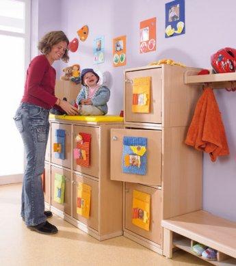 gro fachwickelplatz wickeln raumkonzepte kinder unter 3 wehrfritz gmbh. Black Bedroom Furniture Sets. Home Design Ideas