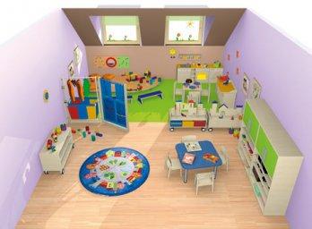 spielen bauen raumkonzepte kinder unter 3 wehrfritz gmbh. Black Bedroom Furniture Sets. Home Design Ideas