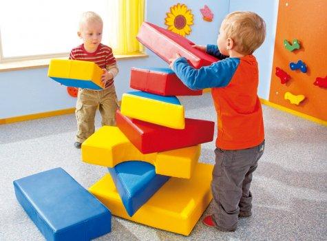 soft bausteine satz bewegungsf rderung sinnesanregung kinder unter 3 wehrfritz gmbh. Black Bedroom Furniture Sets. Home Design Ideas