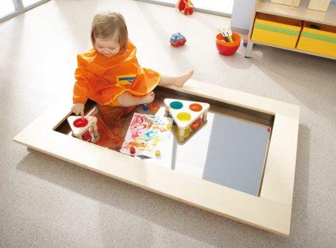 bodenstaffelei kreativit tsf rderung sinnesanregung kinder unter 3 wehrfritz gmbh. Black Bedroom Furniture Sets. Home Design Ideas